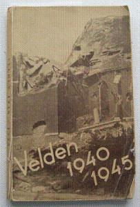 """Omslag van het boek """"Velden 1940-1945"""""""